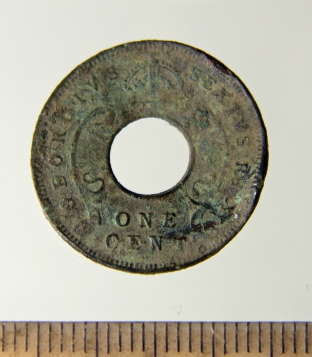 1 cent east africa 1952